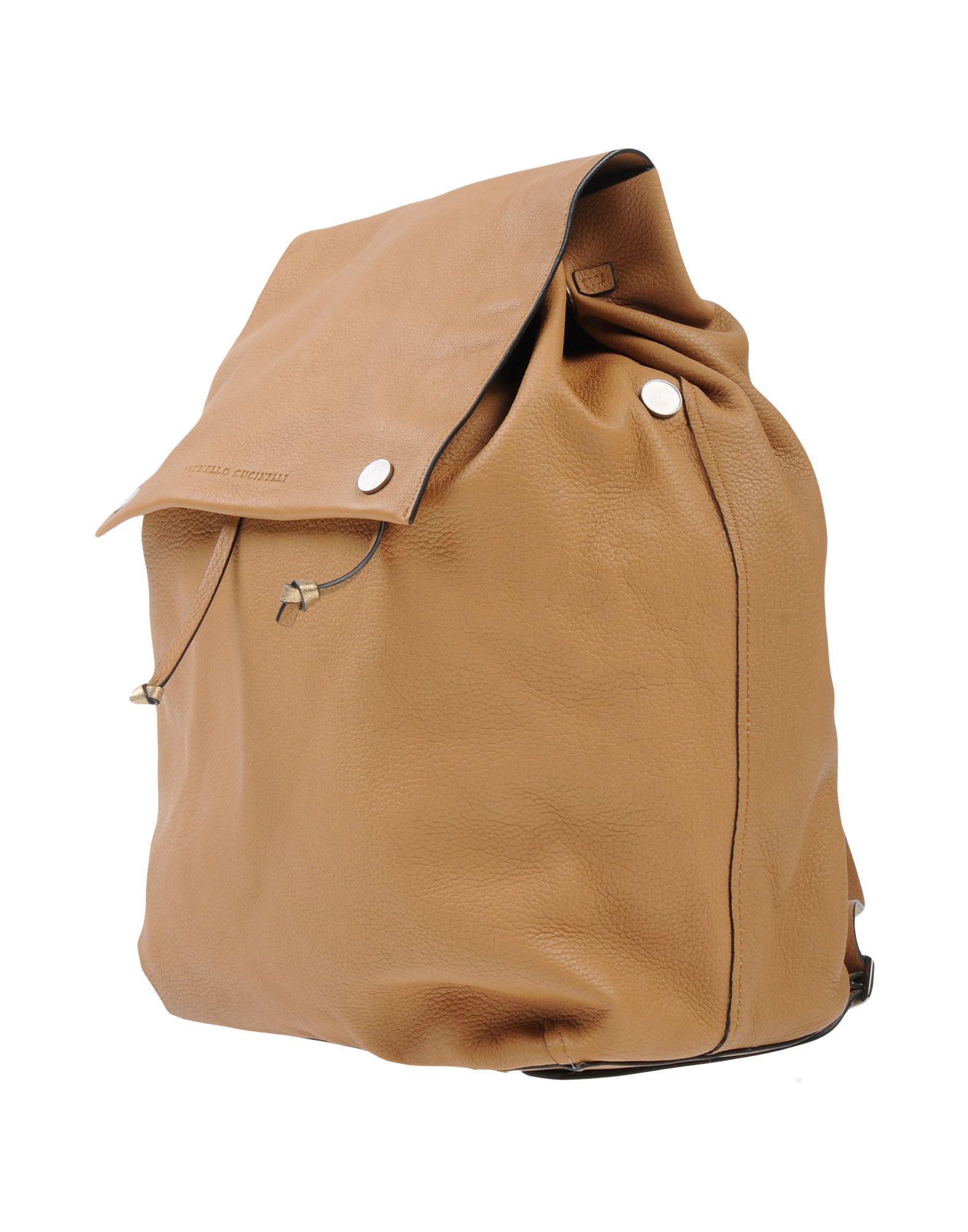 BRUNELLO CUCINELLI Рюкзаки и сумки на пояс