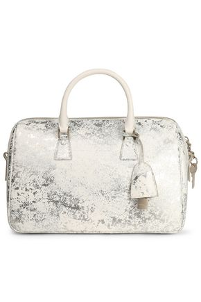 MAISON MARGIELA Metallic coated faux leather shoulder bag