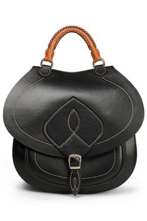 MAISON MARGIELA Embroidered leather shoulder bag