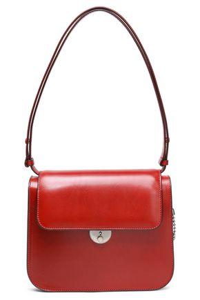 MAISON MARGIELA Glossed-leather shoulder bag