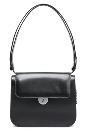 MAISON MARGIELA Glossed-leather shoulder bag