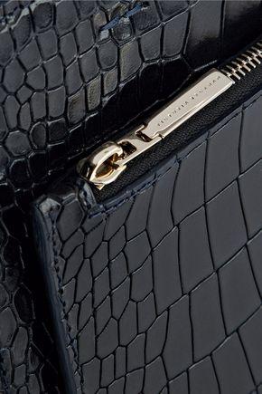 VICTORIA BECKHAM Croc-effect leather shoulder bag