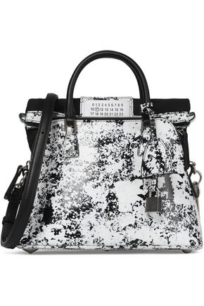 MAISON MARGIELA Printed leather shoulder bag