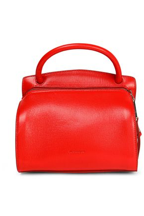 JIL SANDER Textured-leather shoulder bag