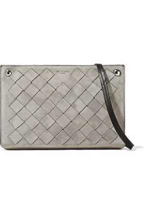 RAG & BONE Basketweave suede shoulder bag