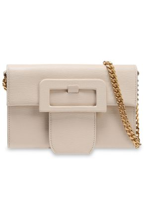 MAISON MARGIELA Textured-leather shoulder bag