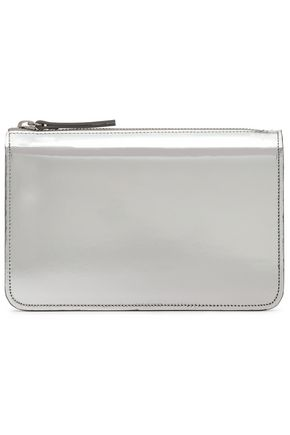 MAISON MARGIELA Metallic leather clutch