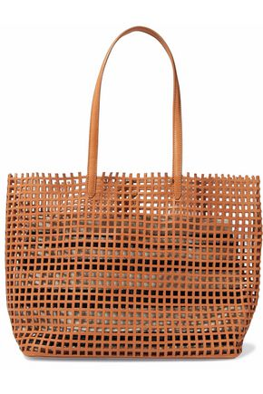 LOEFFLER RANDALL Laser-cut leather tote