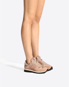 Camouflage Studded Sneaker