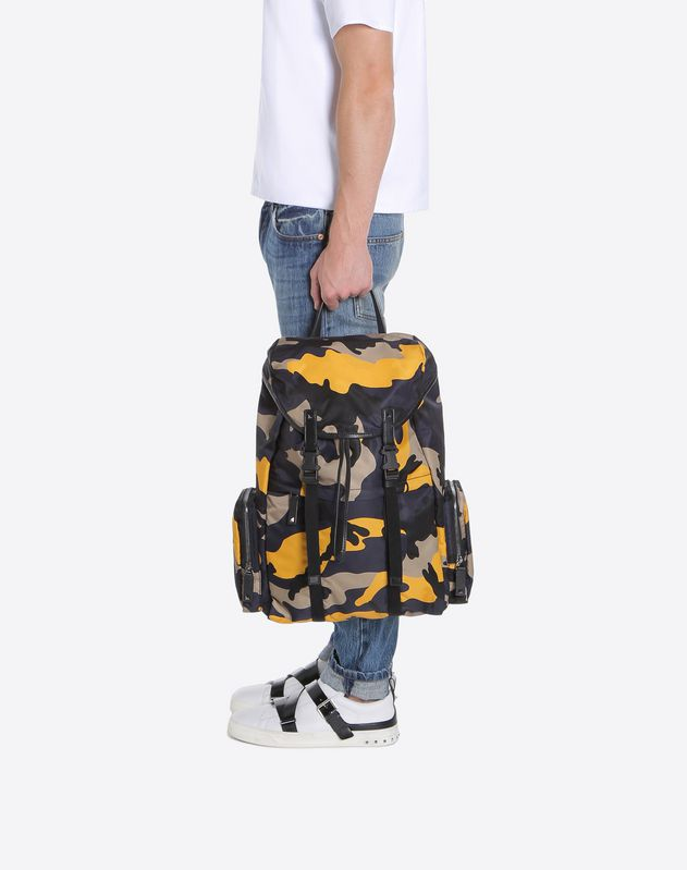 Camouflage Large Backpack