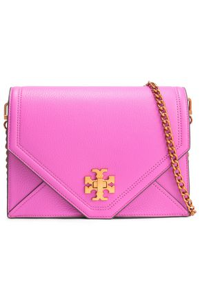 TORY BURCH Leather mini shoulder bag