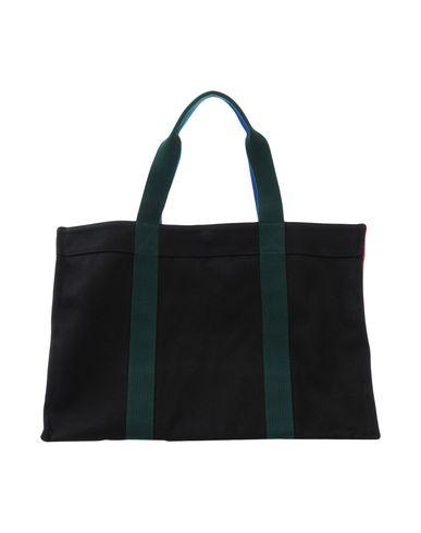 RUE DE VENRNEUIL レディース ハンドバッグ ブラック 紡績繊維