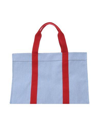 RUE DE VENRNEUIL レディース ハンドバッグ スカイブルー 紡績繊維