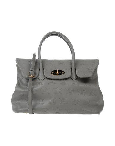 MIA BAG レディース ハンドバッグ グレー 紡績繊維