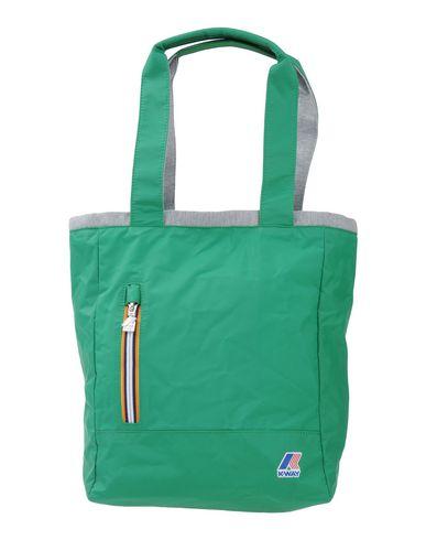 K-WAY レディース ハンドバッグ グリーン ナイロン 100%