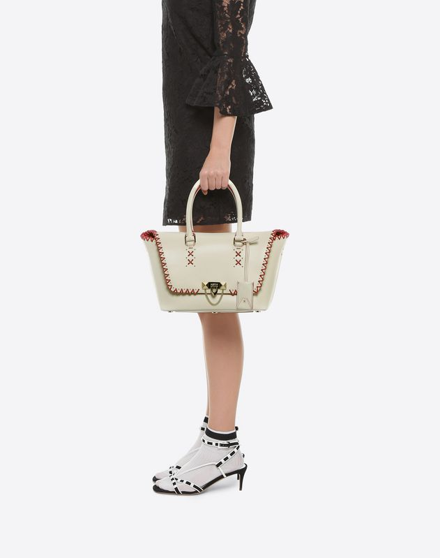Demilune Double Handle Bag