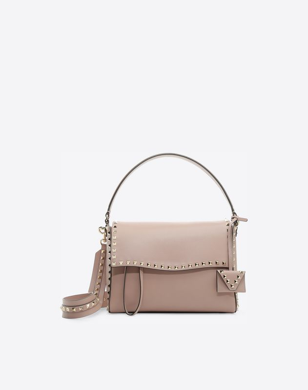 60e29fd565 Rockstud Top Handle Bag for Woman | Valentino Online Boutique