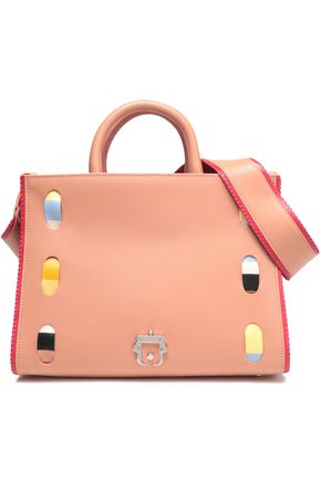PAULA CADEMARTORI Whipstitched leather tote