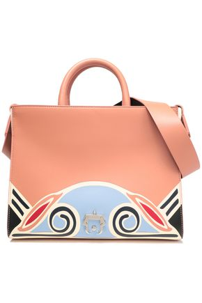 PAULA CADEMARTORI Color-block leather tote