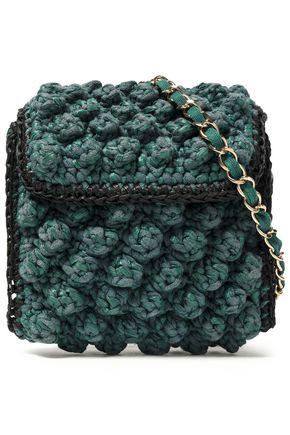 d302782fe8 M MISSONI Crochet-knit shoulder bag ...