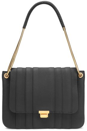 ANYA HINDMARCH Textured-leather shoulder bag