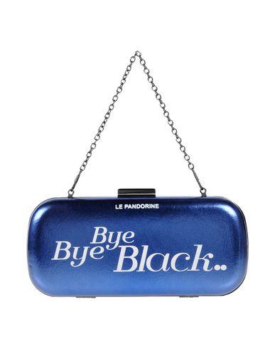 LE PANDORINE レディース ハンドバッグ ブルー ポリウレタン 100%