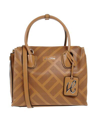 LA CARRIE BAG レディース ハンドバッグ キャメル 紡績繊維