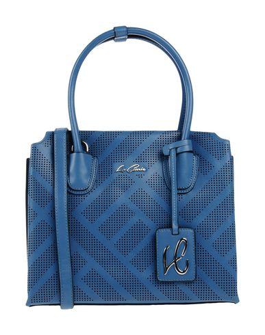 LA CARRIE BAG レディース ハンドバッグ ブルーグレー 紡績繊維