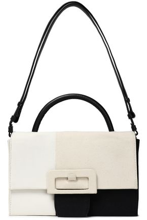 MAISON MARGIELA Color-block canvas shoulder bag