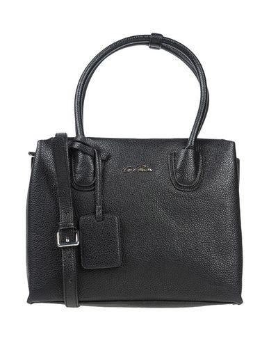 LA CARRIE BAG レディース ハンドバッグ ブラック 紡績繊維