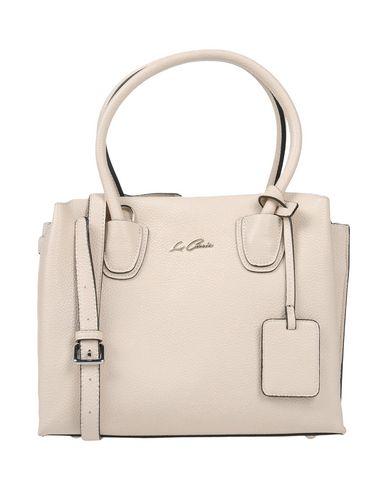 LA CARRIE BAG レディース ハンドバッグ アイボリー 紡績繊維