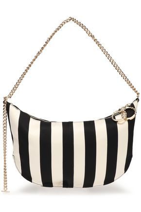 NINA RICCI Striped twill shoulder bag