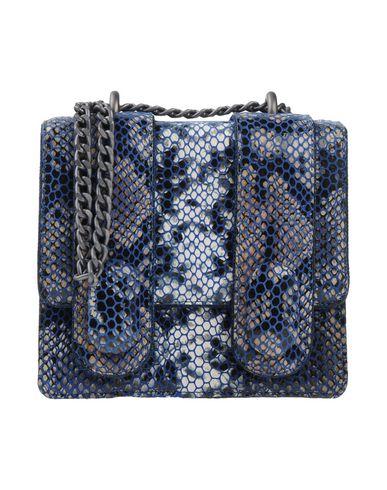 ANTONIO MARRAS レディース ハンドバッグ ブルー 革 / 紡績繊維