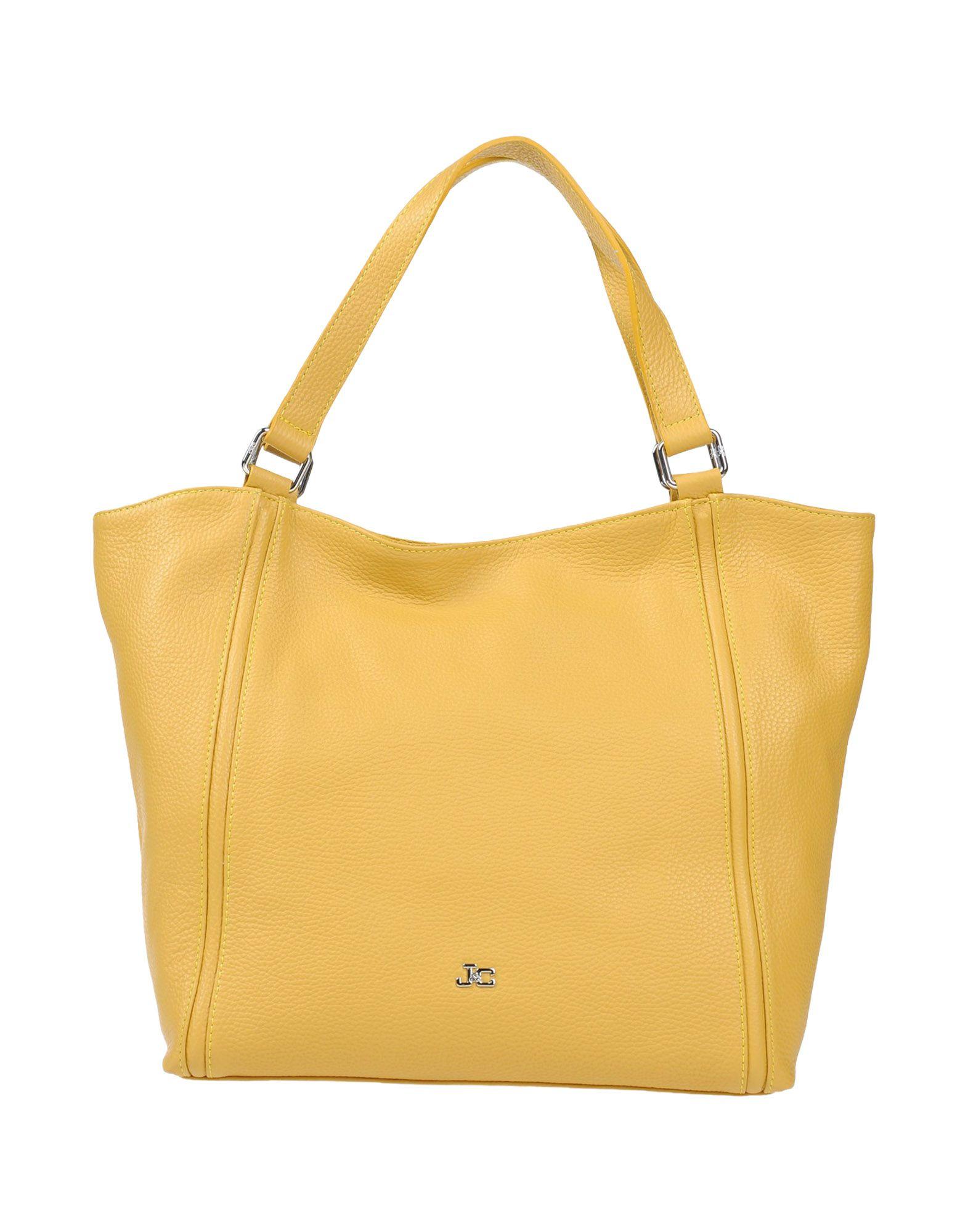 J&C JACKYCELINE Damen Handtaschen Farbe Gelb Größe 1