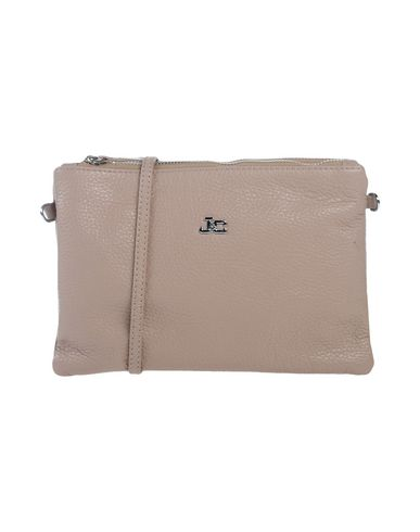 J & C JACKYCELINE レディース ハンドバッグ ドーブグレー 革