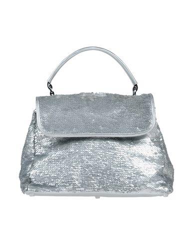 ABRO? レディース ハンドバッグ シルバー 革 / 紡績繊維