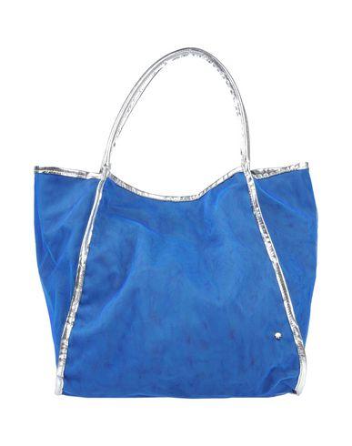 ROSAMUNDA レディース ハンドバッグ ブルー ポリエステル 100% / エコレザー