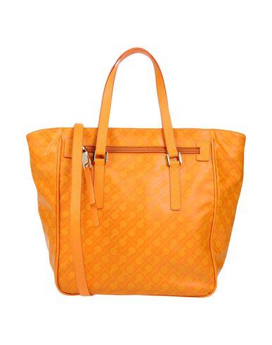 GHERARDINI レディース ハンドバッグ オレンジ 紡績繊維