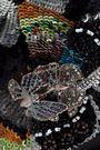 VALENTINO GARAVANI Camubutterfly embellished leather shoulder bag