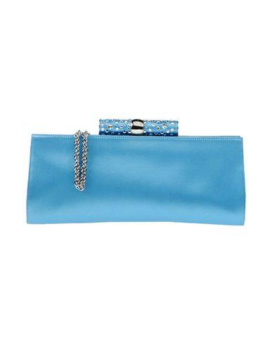 RODO レディース ハンドバッグ アジュールブルー 紡績繊維
