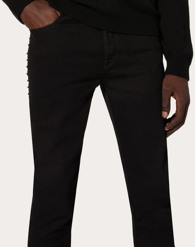 Rockstud Untitled 5-pocket jeans