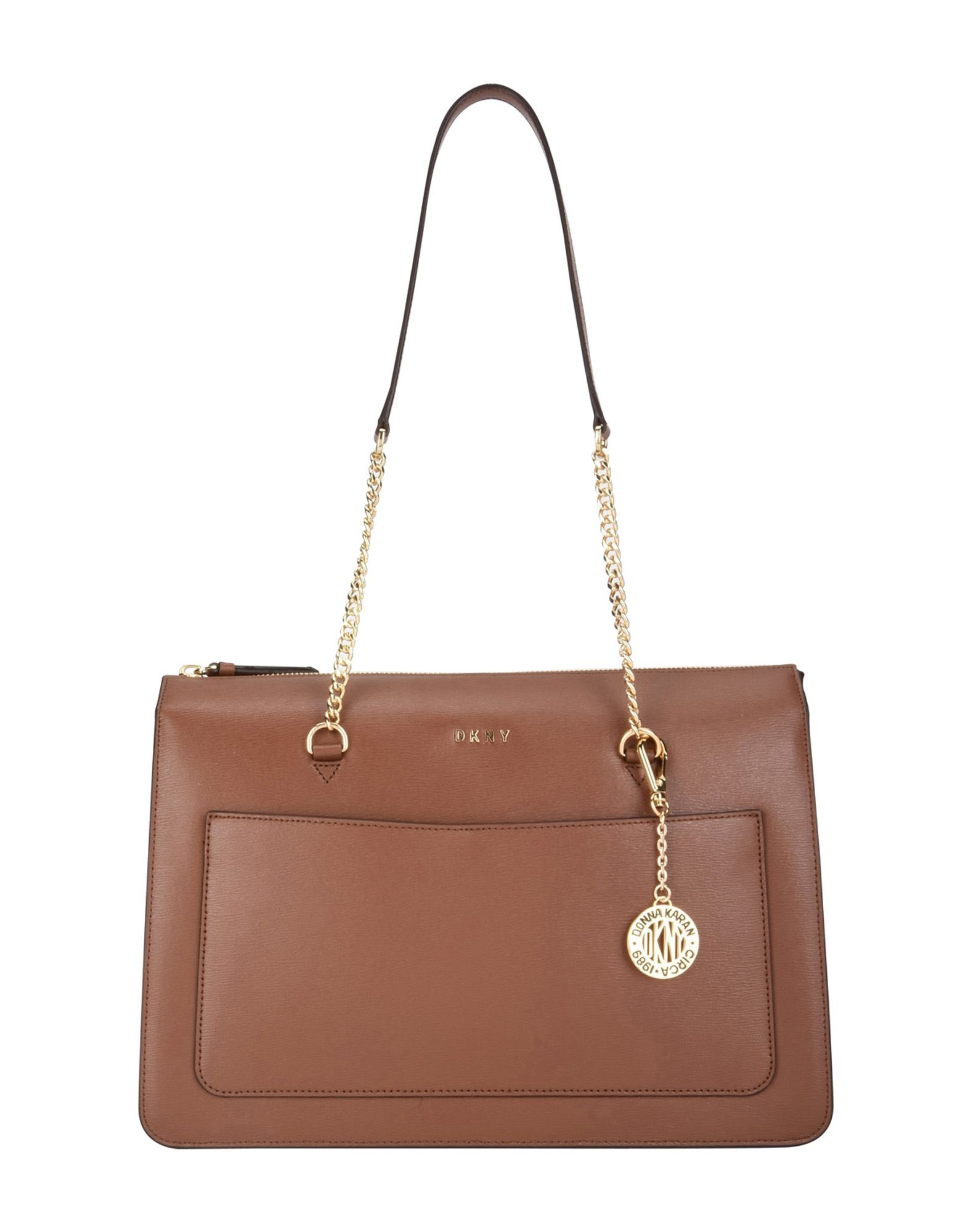 a456955bda0 DKNY SHOULDER BAG, BROWN   ModeSens