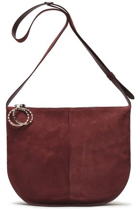 NINA RICCI Suede shoulder bag