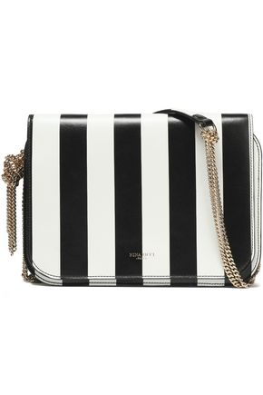 NINA RICCI Striped leather shoulder bag
