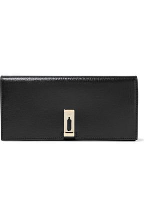 ANYA HINDMARCH Textured-leather clutch