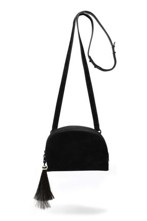 LOEFFLER RANDALL Tasseled suede shoulder bag