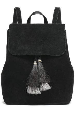 LOEFFLER RANDALL Tasseled suede backpack