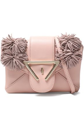 SARA BATTAGLIA Fringed leathe shoulder bag