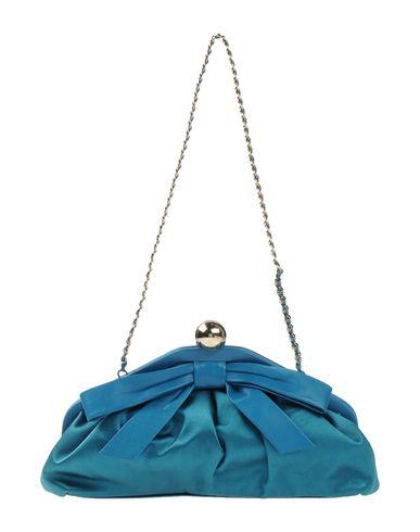 MOSCHINO CHEAP AND CHIC レディース ハンドバッグ ディープジェード 紡績繊維 / 革