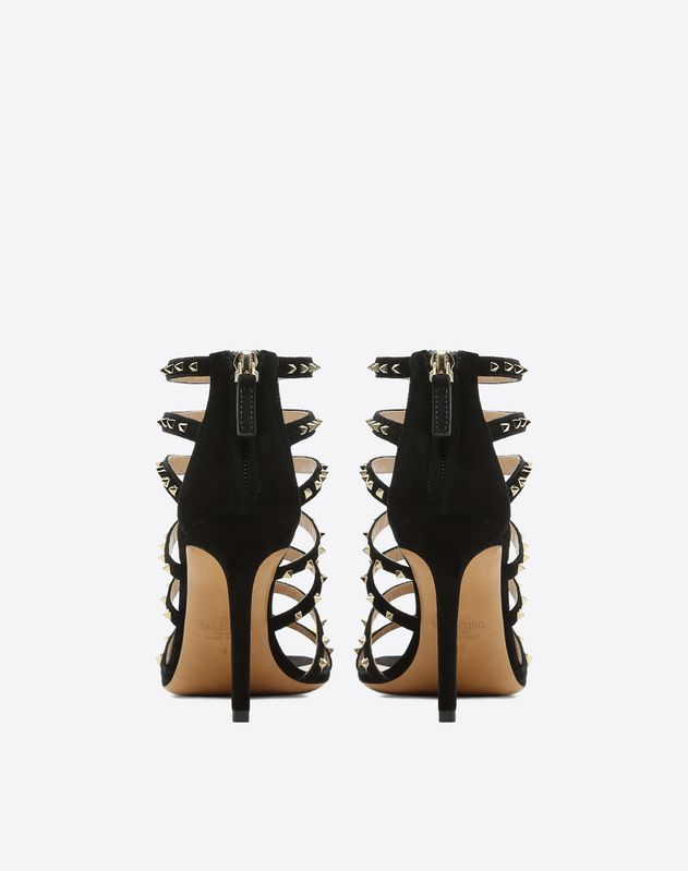 Suede Lovestud Sandal 90mm